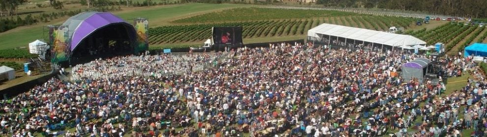 Rochfords Yarra Valley Day on the Green concerts